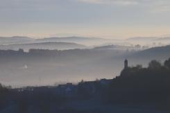 Morgendämmerung in Salmendingen