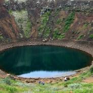 Der erloschene Krater Kerid