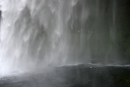 Wasserschleier des Seljalandsfoss