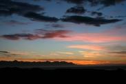 Sonnenaufgang bei Álftrafjördur