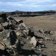 Trockental: Nach einem Gletscherlauf suchte sich das Wasser der Jökulsa einen neuen Weg