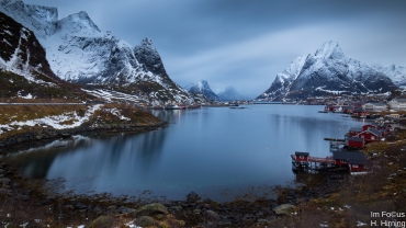 Reinehalsen, Lofoten